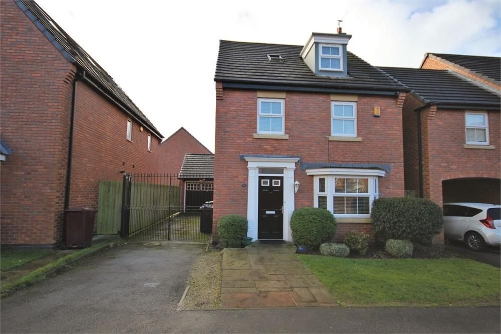 4 Bedrooms Detached House for sale in Tavington Road, Halewood, LIVERPOOL, Merseyside