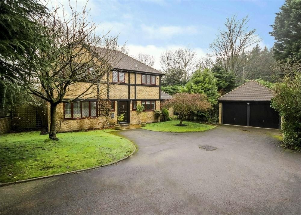 4 Bedrooms Detached House for sale in Hawkins Close, Bracknell, Berkshire