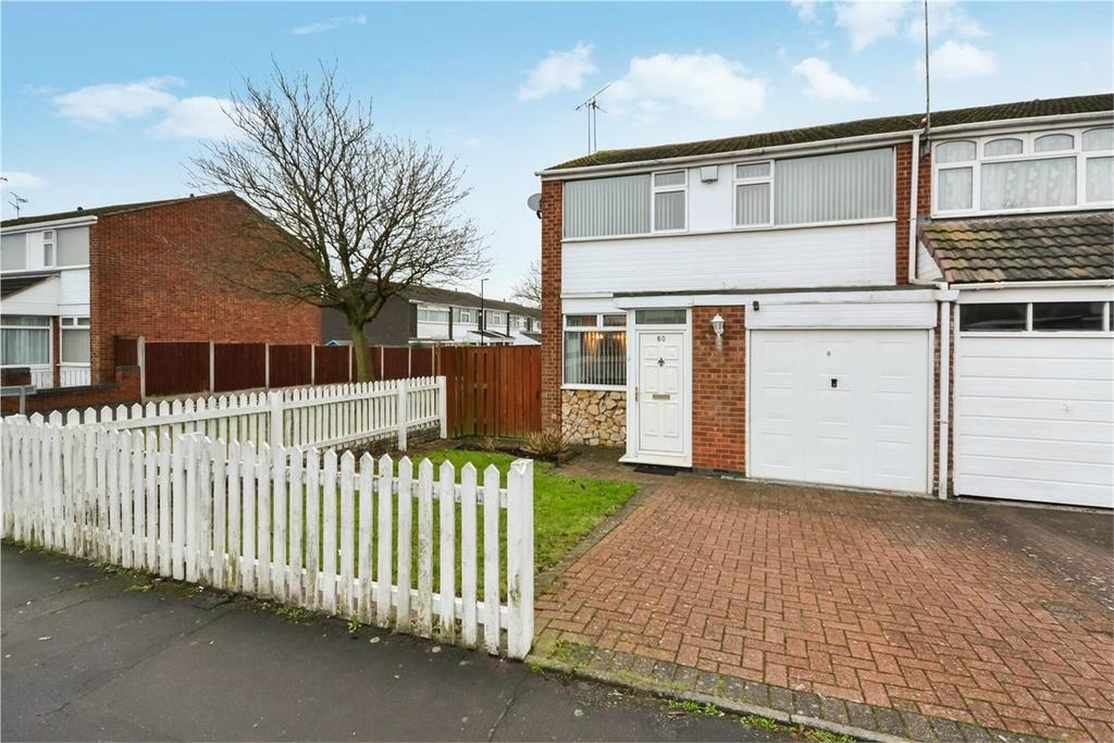3 Bedrooms End Of Terrace House for sale in Mayflower Drive, Stoke Hill, COVENTRY, West Midlands