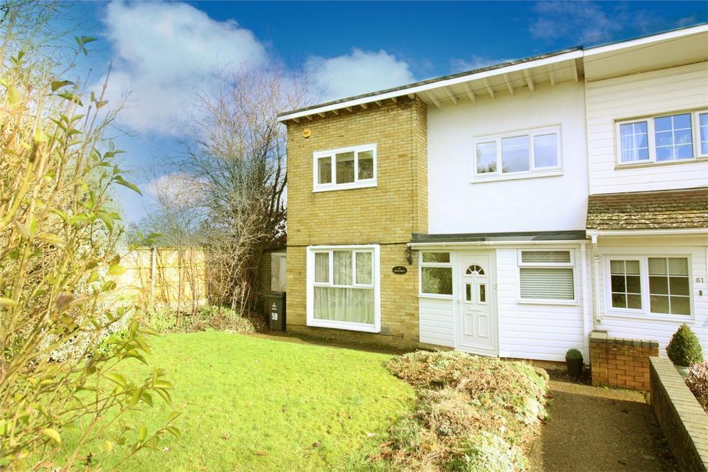 3 Bedrooms End Of Terrace House for sale in Nodes Drive, Stevenage, Hertfordshire