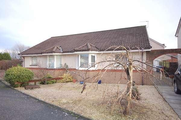 2 Bedrooms Semi Detached Bungalow for sale in 45 Elder Crescent, Cambuslang, Glasgow, G72 7GL
