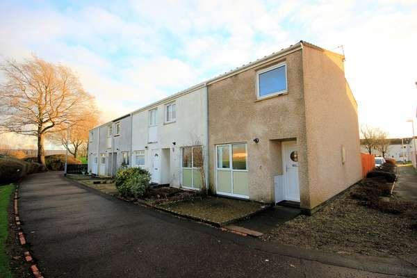 2 Bedrooms End Of Terrace House for sale in 28 Glenapp Place, Kilwinning, KA13 6TG