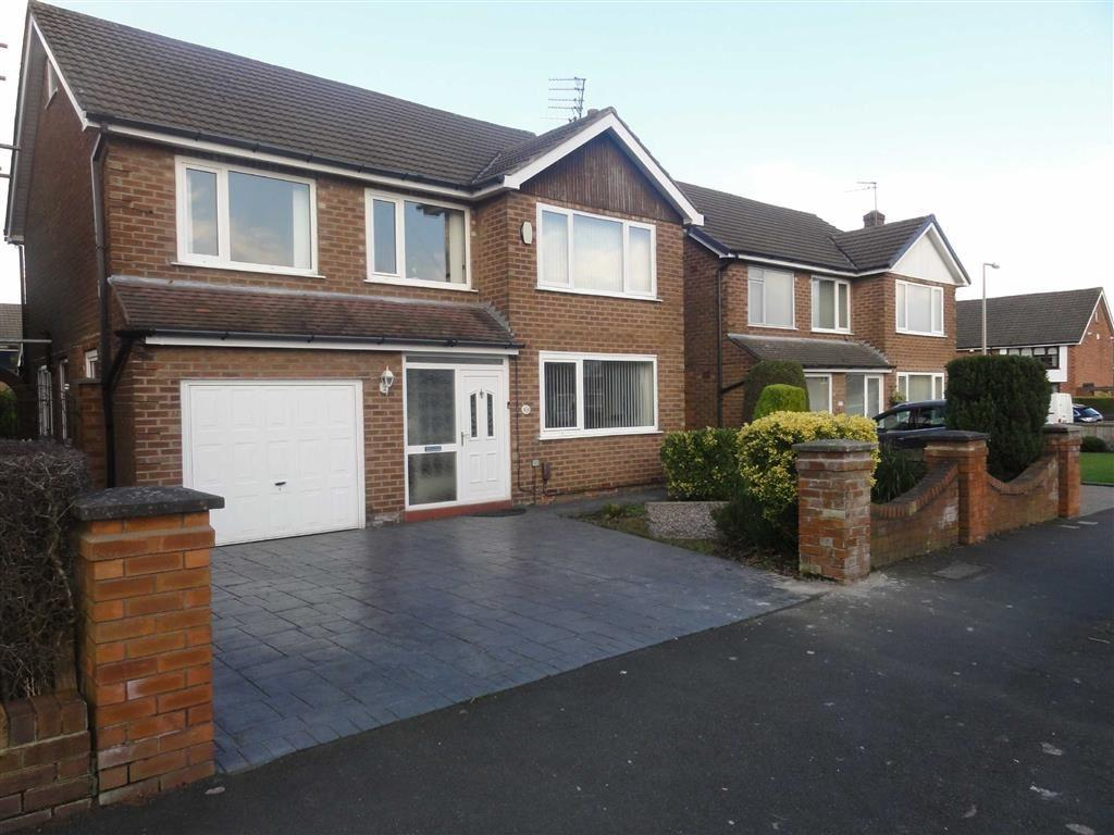 4 Bedrooms Detached House for sale in Queensway, Heald Green