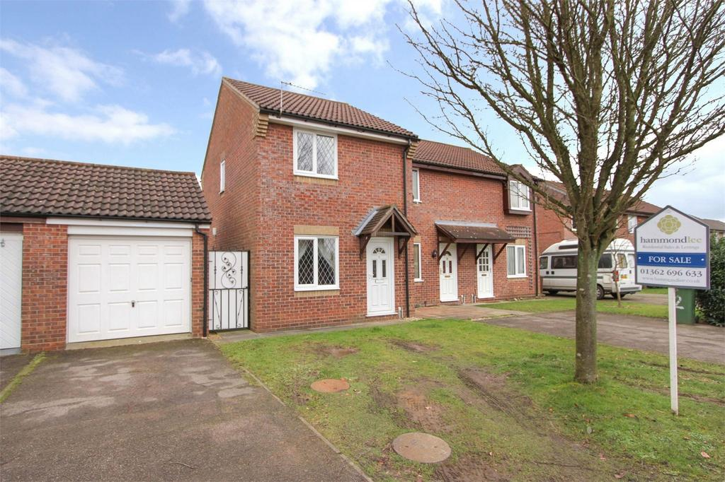 2 Bedrooms End Of Terrace House for sale in Harry Blunt Way, Scarning, Norfolk