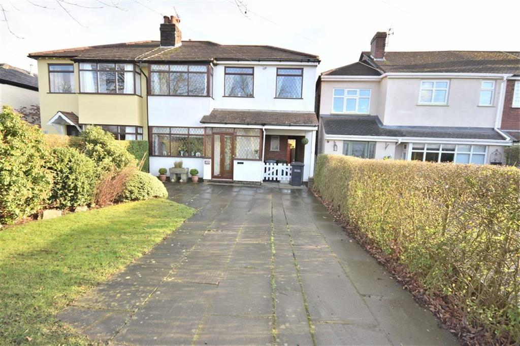 3 Bedrooms Semi Detached House for sale in CHESTER ROAD, Poynton, Cheshire
