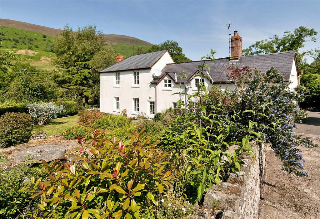 4 Bedrooms Equestrian Facility Character Property for sale in Pengenffordd, Talgarth, Brecon, Powys