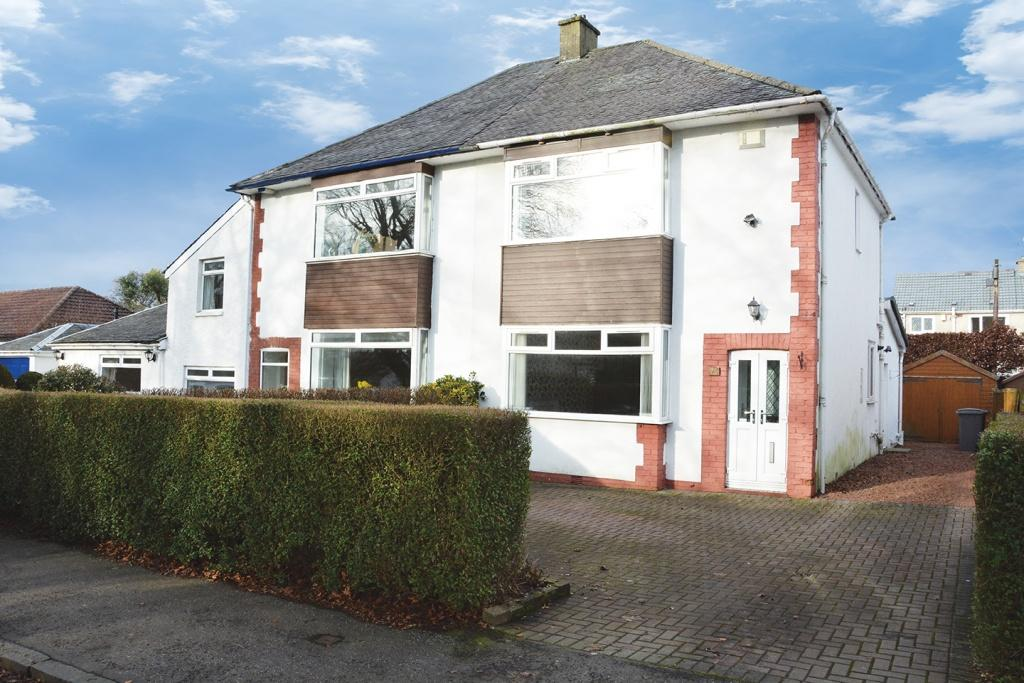 3 Bedrooms Semi Detached House for sale in 75 Holehouse Road, Eaglesham, G76 0JF
