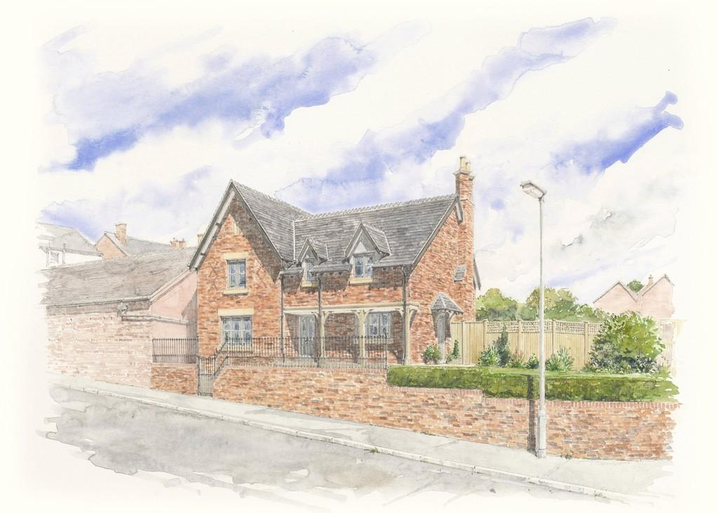 Land Commercial for sale in Building Plot, rear of Holly House, Malpas, SY14 8NQ