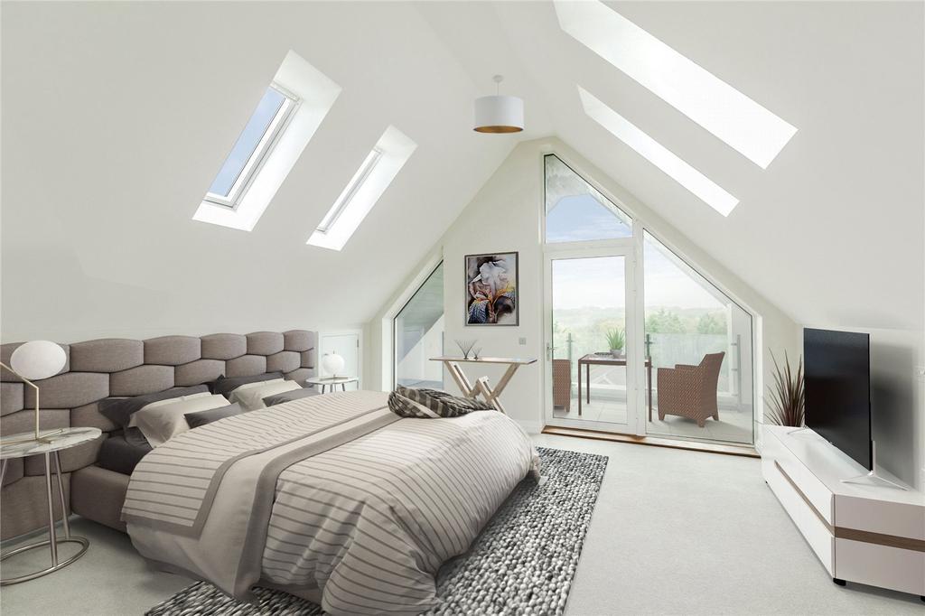 3 Bedrooms Flat for sale in South Park Crescent, Gerrards Cross, Buckinghamshire