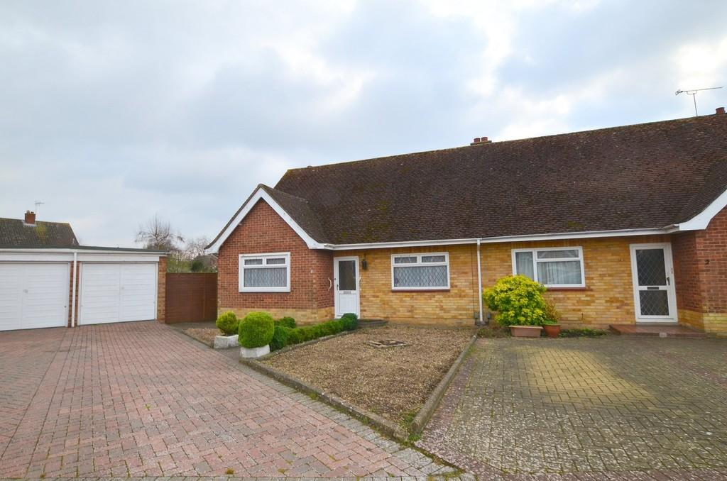 2 Bedrooms Semi Detached Bungalow for sale in Bodiam Close, Ipswich