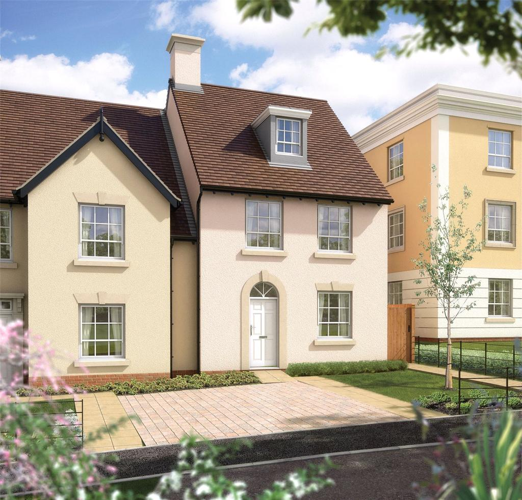 4 Bedrooms Terraced House for sale in Knights Cresent, Winchester Village, Winchester, Hampsihre, SO22