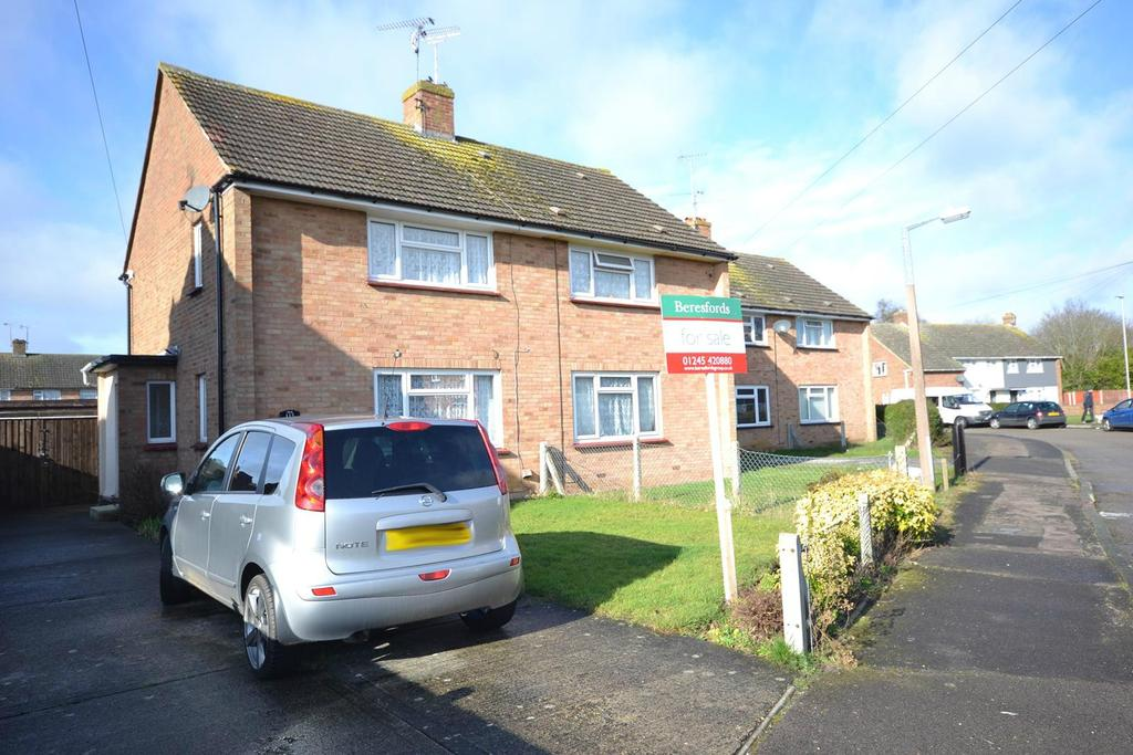 2 Bedrooms Semi Detached House for sale in Long Brandocks, Writtle, Chelmsford, Essex, CM1