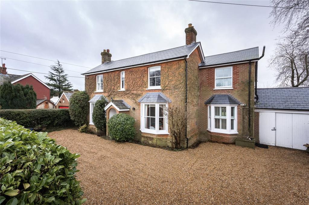 5 Bedrooms Detached House for sale in Vicarage Lane, Ropley, Alresford, Hampshire, SO24