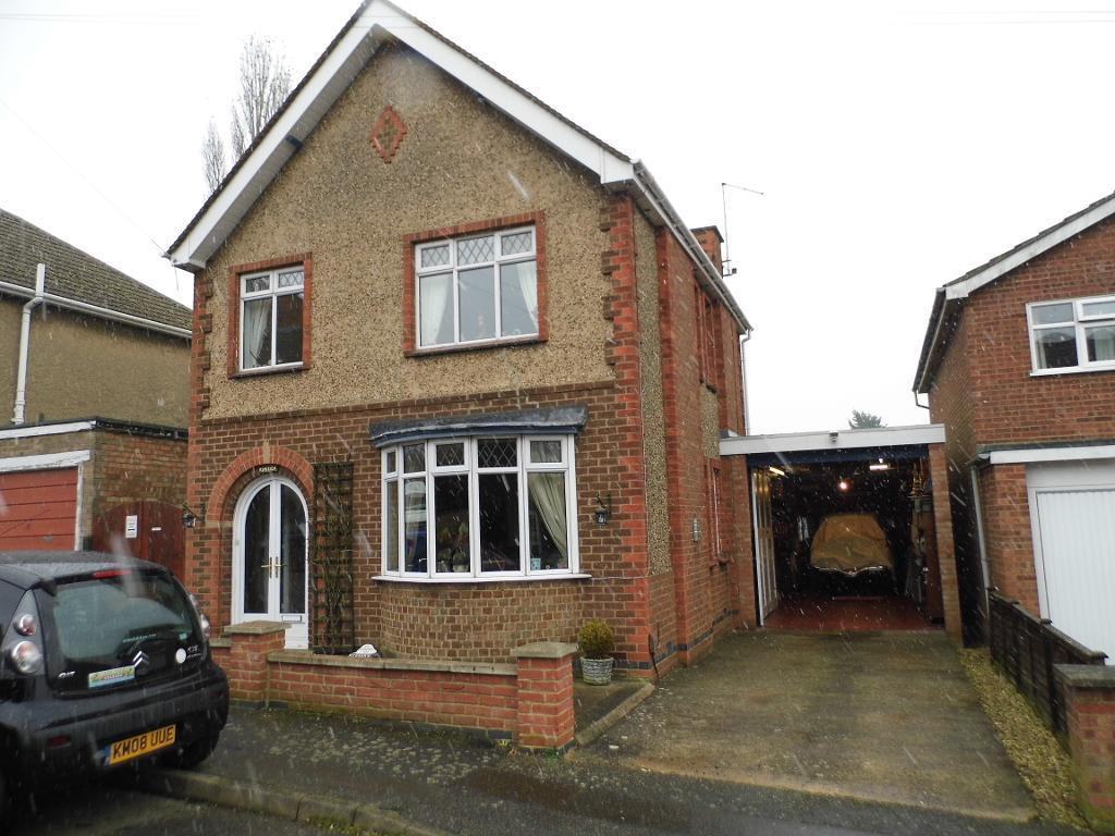 3 Bedrooms Detached House for sale in Ragsdale Street, Rothwell, NN14 6DE