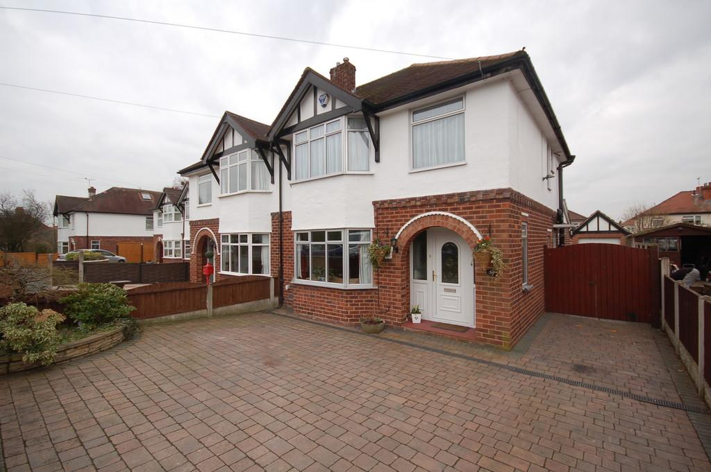 3 Bedrooms Semi Detached House for sale in Maytree Avenue, Vicars Cross