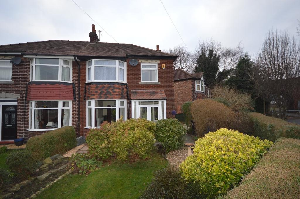 3 Bedrooms Semi Detached House for sale in Carrs Avenue, Cheadle