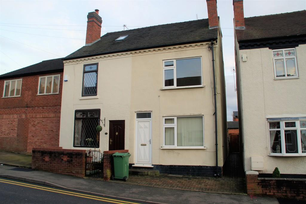 3 Bedrooms Semi Detached House for sale in Newhall Street, Cannock