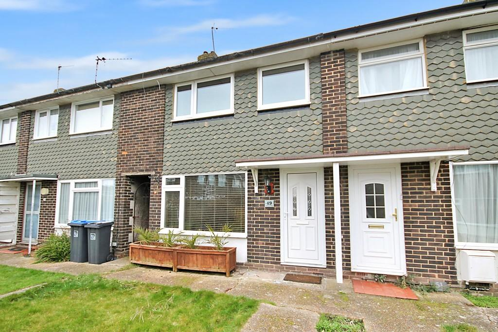 3 Bedrooms Terraced House for sale in Grafton Gardens, Sompting, Lancing, BN15 9SP