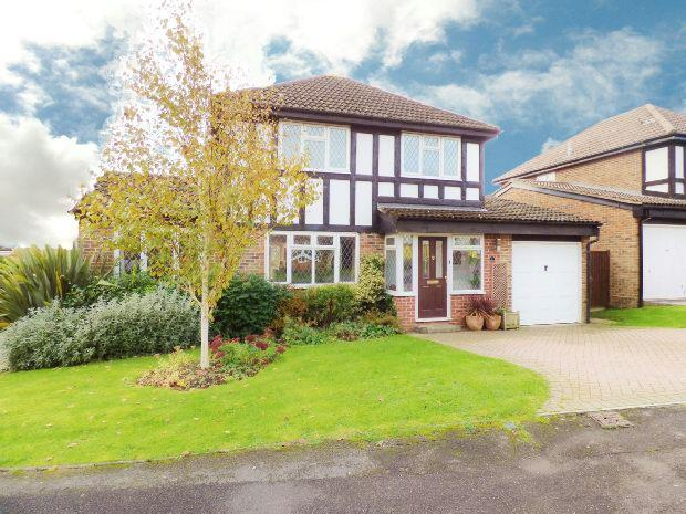 4 Bedrooms Detached House for sale in Melksham Close, Lower Earley, Reading,