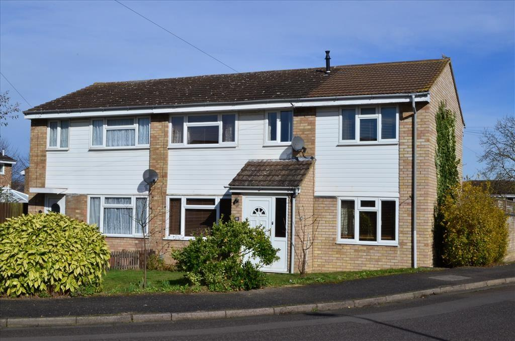 4 Bedrooms Semi Detached House for sale in Coombelands, ROYSTON, SG8