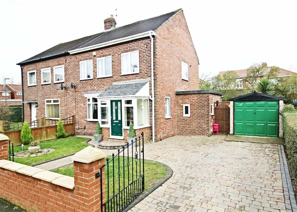 3 Bedrooms Semi Detached House for sale in Lambley Crescent, Hebburn, Tyne And Wear