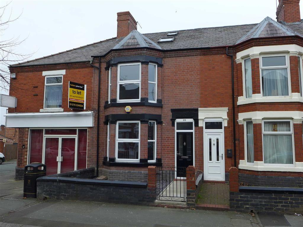 4 Bedrooms Terraced House for sale in Gainsborough Road, Crewe