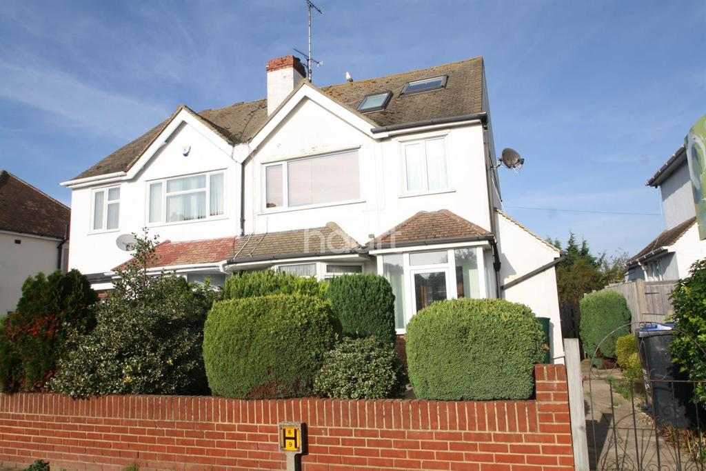 4 Bedrooms Semi Detached House for sale in Northdown Road, Margate CT9