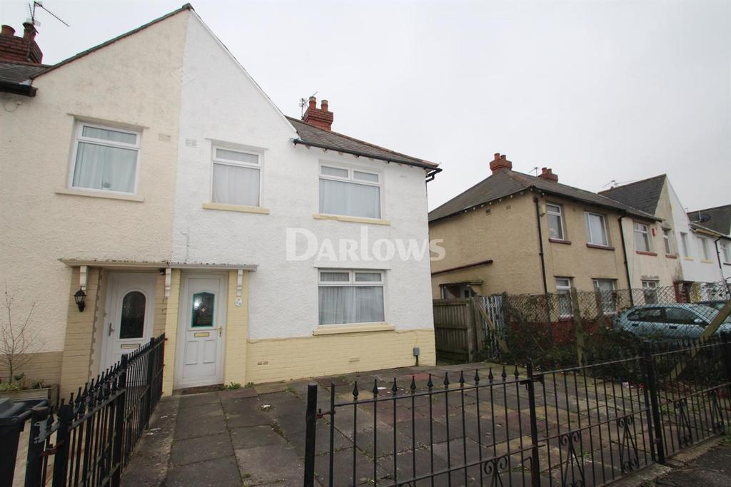 3 Bedrooms Semi Detached House for sale in Clydesmuir Road, Tremorfa, Cardiff