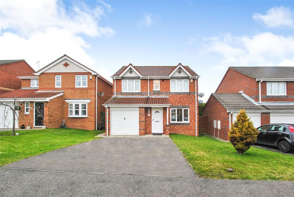 4 Bedrooms Detached House for sale in Dawlish Close, Seaham, Co. Durham, SR7