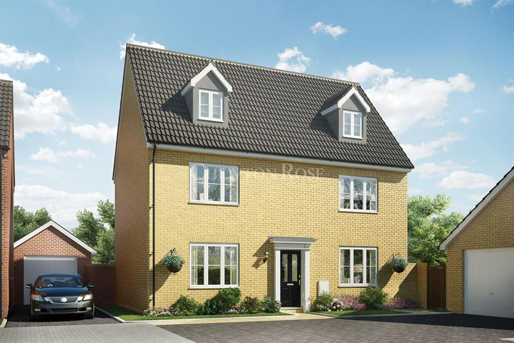 5 Bedrooms Detached House for sale in Plot 008 The Oxburgh, Off Yarmouth Road, Blofield,