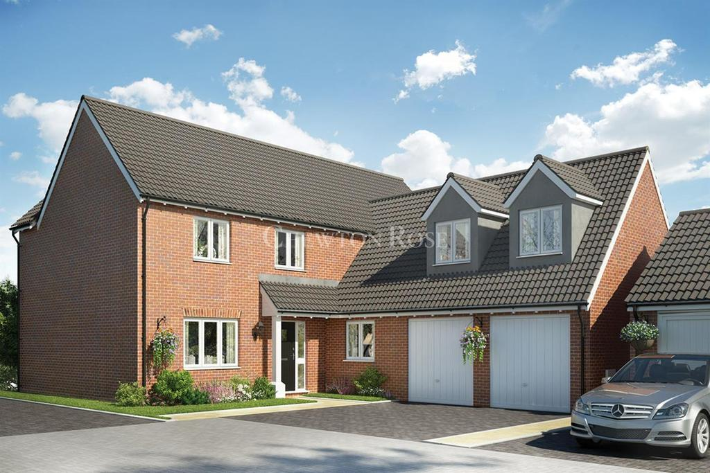 5 Bedrooms Detached House for sale in Plot 010 The Woburn, Blofield, Norwich