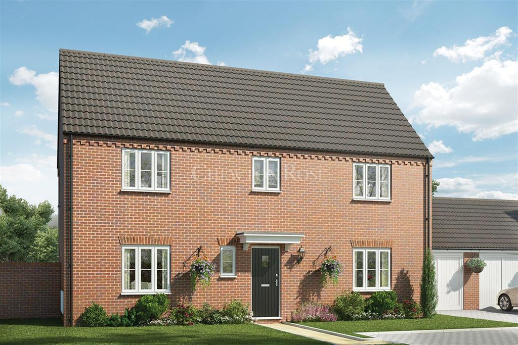 4 Bedrooms Detached House for sale in Saxon Fields, Blofield