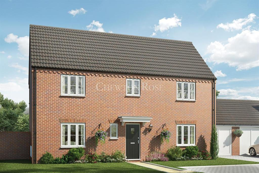4 Bedrooms Detached House for sale in Saxon Fields, Off Yarmouth Road, Blofield, Norwich