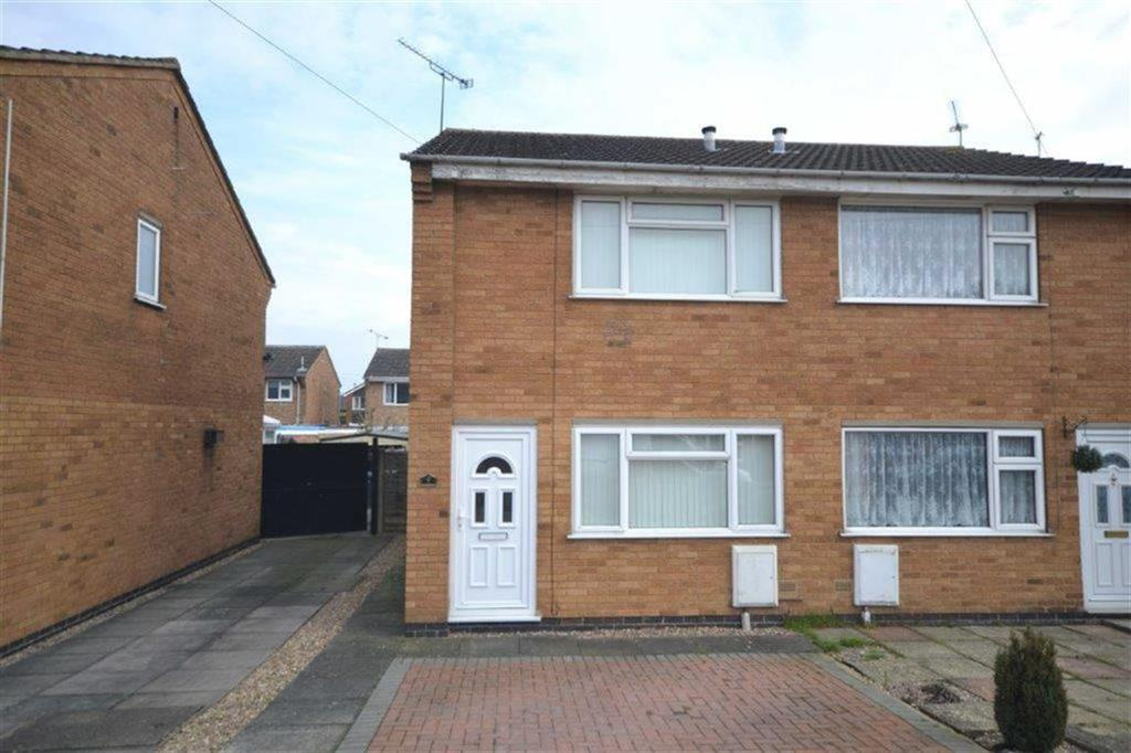 2 Bedrooms Semi Detached House for sale in Garnette Close, Poplar Farm, Nuneaton