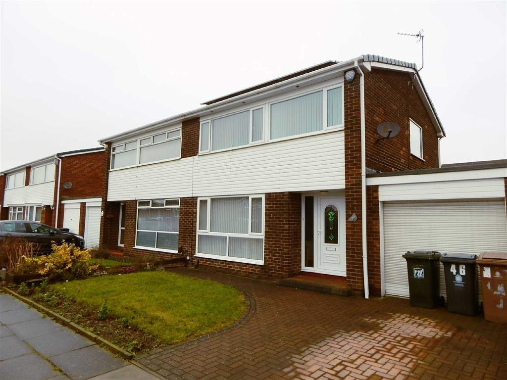 3 Bedrooms Semi Detached House for sale in Valeria Close, Hadrian Park, Wallsend, NE28