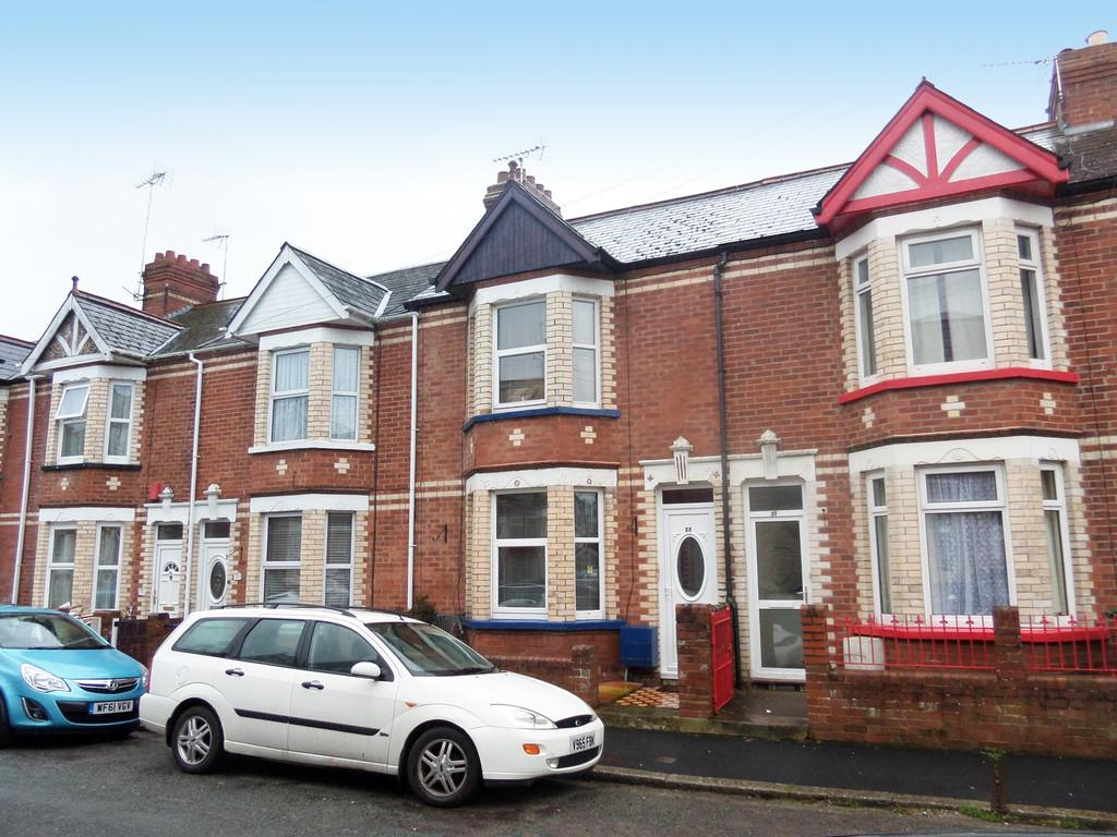 3 Bedrooms Terraced House for sale in Shaftesbury Road, Exeter
