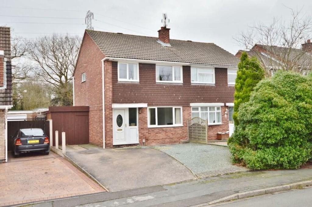 3 Bedrooms Semi Detached House for sale in Oldfields Crescent, Great Haywood