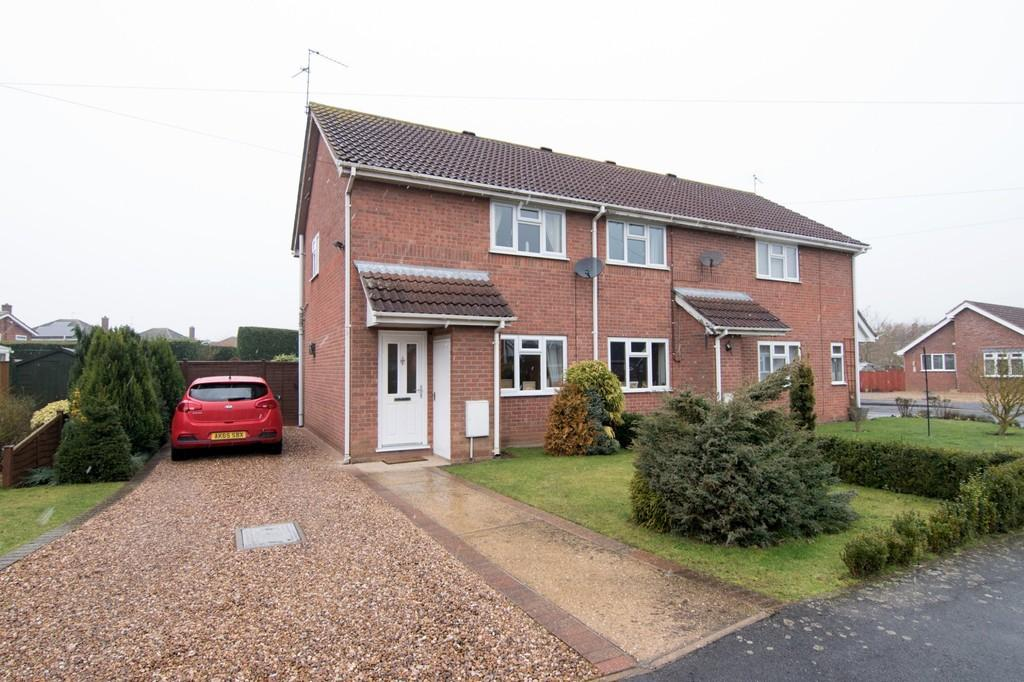 2 Bedrooms End Of Terrace House for sale in Saundergate Park, Wyberton