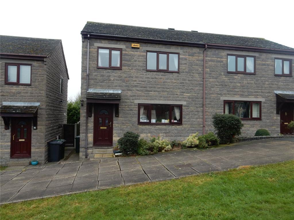 3 Bedrooms Semi Detached House for sale in Chapel Close, Skelmanthorpe, Huddersfield, HD8