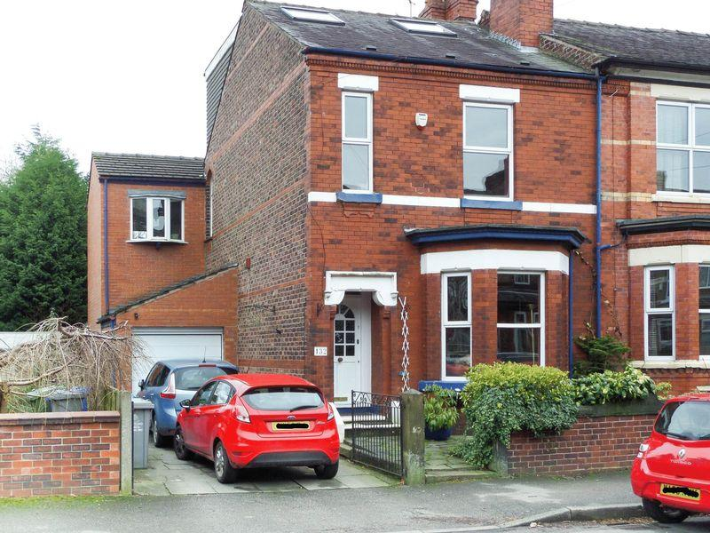 4 Bedrooms End Of Terrace House for sale in Roseneath Road, Urmston