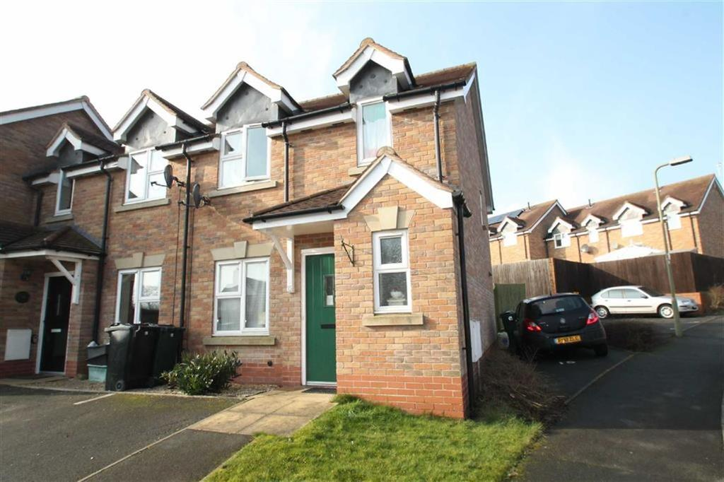 3 Bedrooms End Of Terrace House for sale in Sycamore Close, Craven Arms