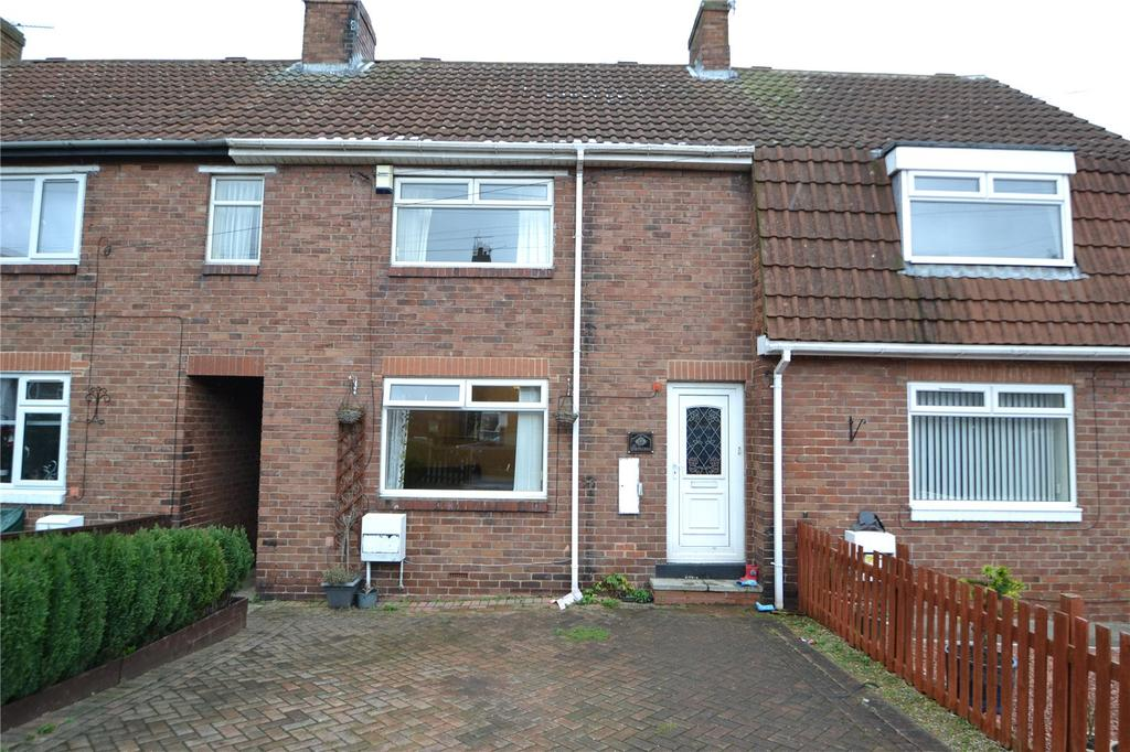 3 Bedrooms Terraced House for sale in North Crescent, Easington Village, Peterlee, Co. Durham, SR8