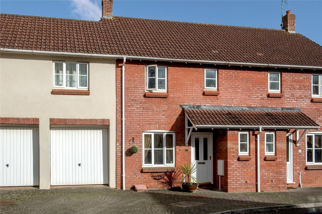 3 Bedrooms Terraced House for sale in Grenville View, Cotford St. Luke, Taunton, Somerset
