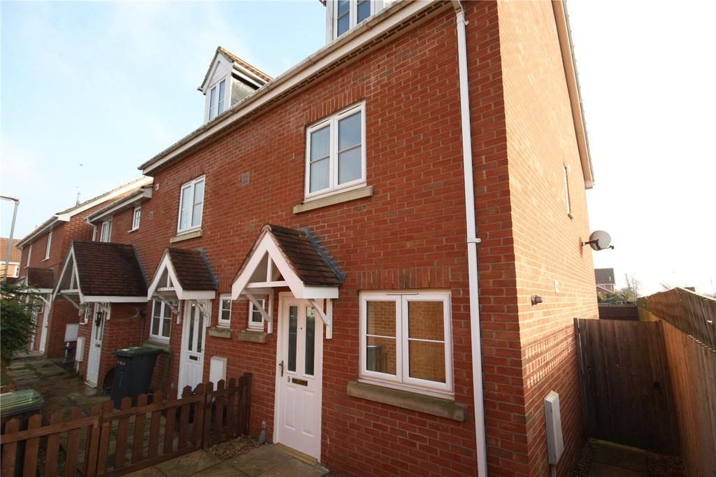 3 Bedrooms End Of Terrace House for sale in Wheat Grove, Sleaford, Lincolnshire, NG34