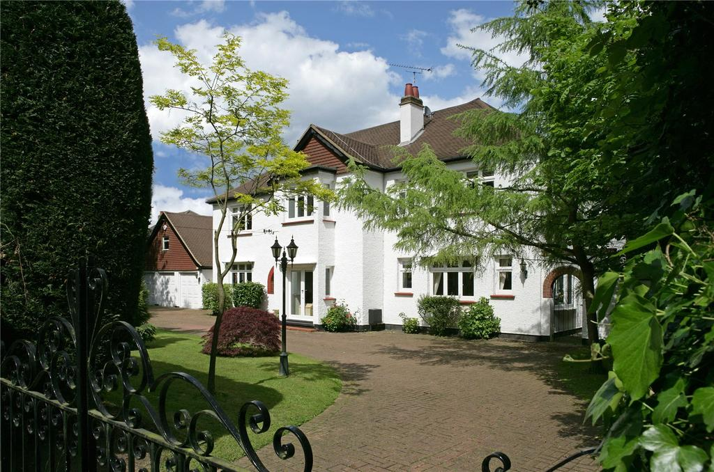 5 Bedrooms Detached House for sale in Rushmore Hill, Knockholt, Sevenoaks, Kent, TN14