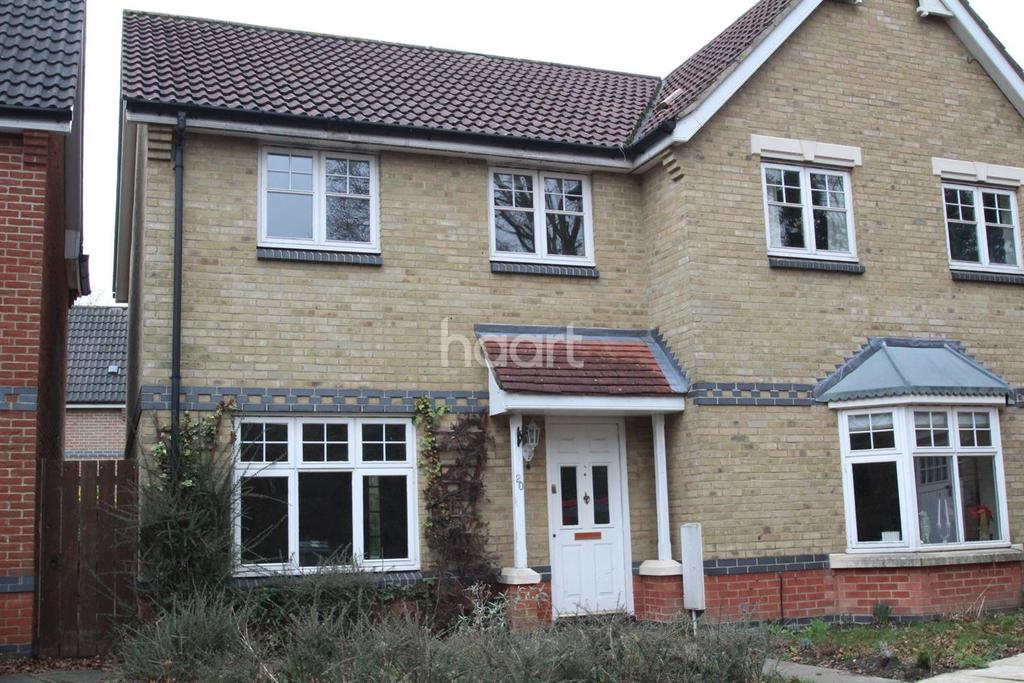 3 Bedrooms Semi Detached House for sale in Barleyfield road, Horsford