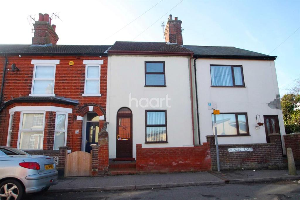 2 Bedrooms Terraced House for sale in Princes Road, Lowestoft
