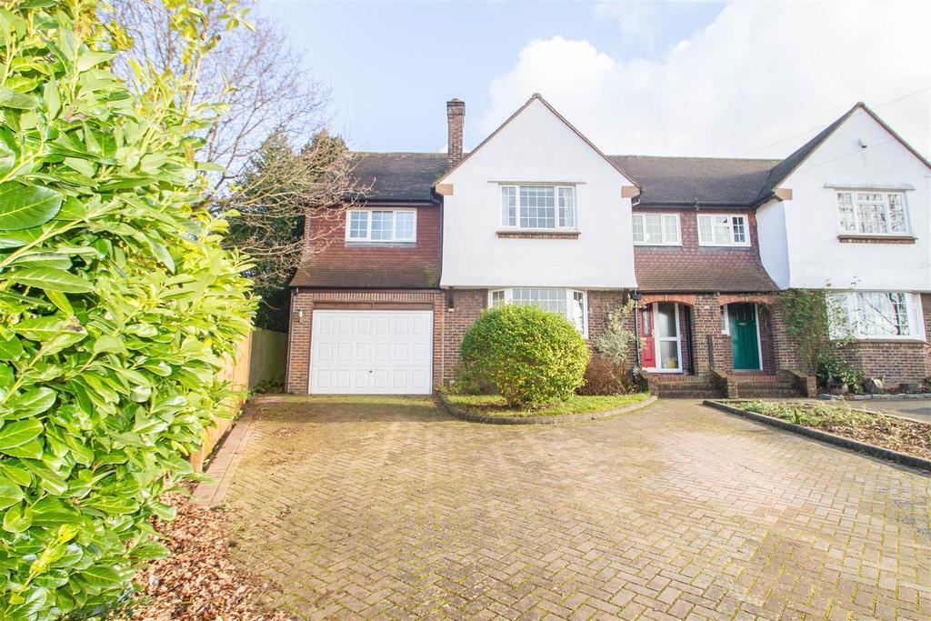 4 Bedrooms Semi Detached House for sale in Roseacre Lane, Bearsted, Maidstone