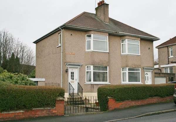 2 Bedrooms Semi-detached Villa House for sale in 61 Barrachnie Road, Baillieston, Glasgow, G69 6NY
