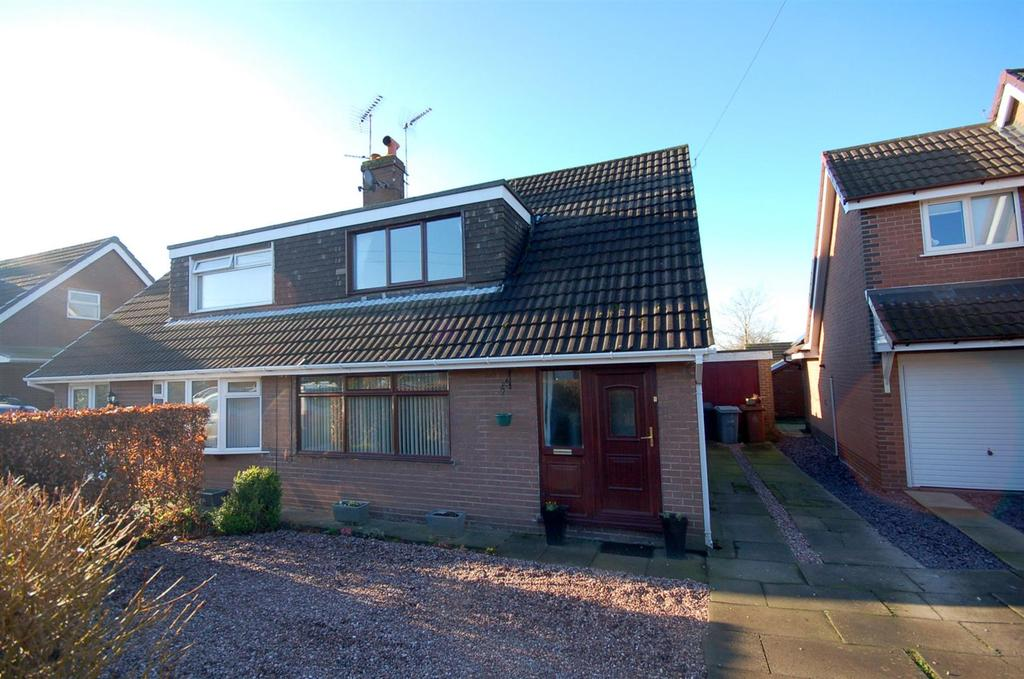 3 Bedrooms Semi Detached House for sale in Heath Ave, Rode Heath